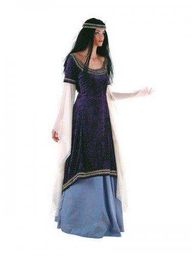 Disfraz de princesa de los elfos medieval Talla S