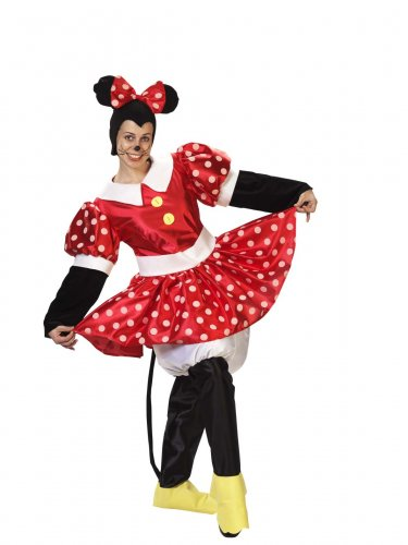Disfraz de ratona ratoncita adulto talla 44
