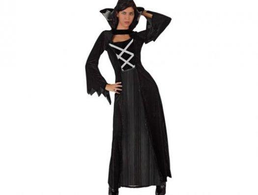 Disfraz de reina de las vampiras, mujer