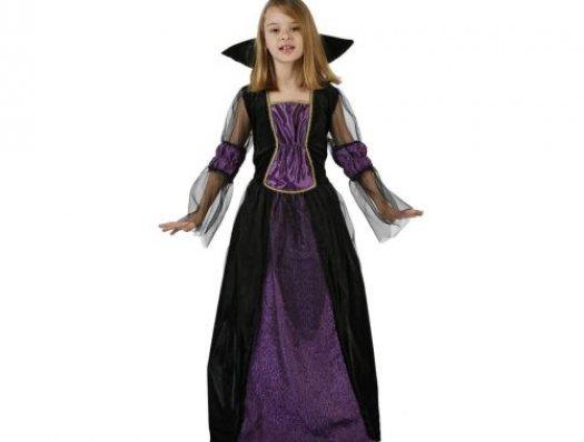 Disfraz de reina medieval, 7-9 años