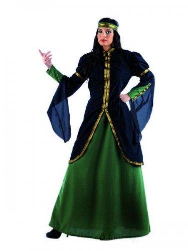 Disfraz de reina medieval Talla XL