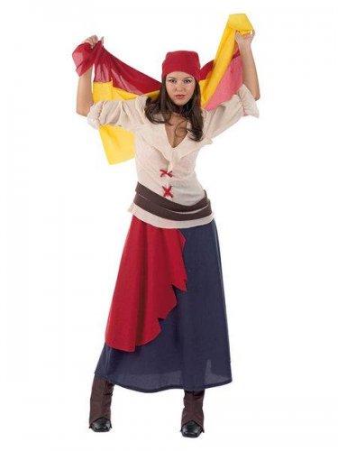 Disfraz de revolucionaria española