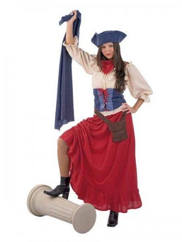 Disfraz de revolucionaria francesa