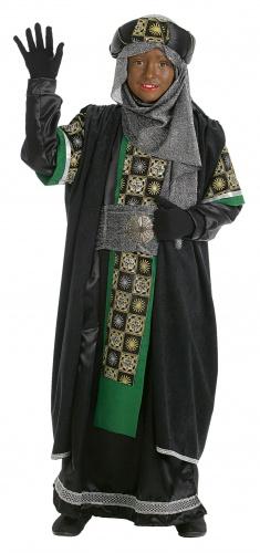 Disfraz de rey mago Baltasar infantil talla 3 (7-9 años)