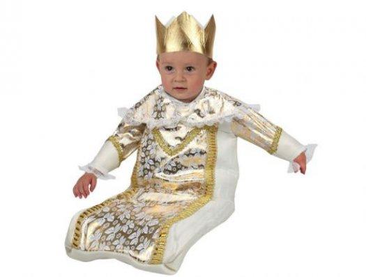 Disfraz de rey mago bebe, 1-6 meses