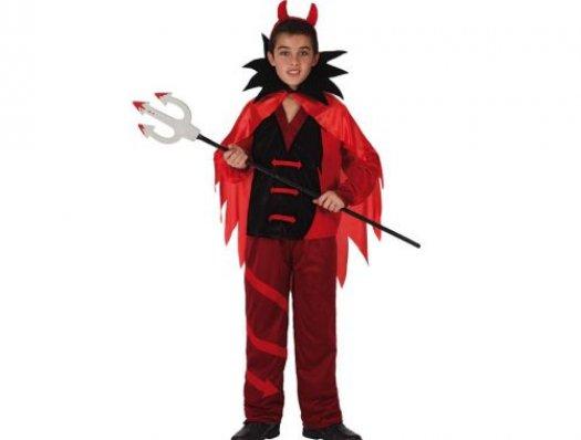 Disfraz de niño demonio Talla 3 (7 – 9 años)