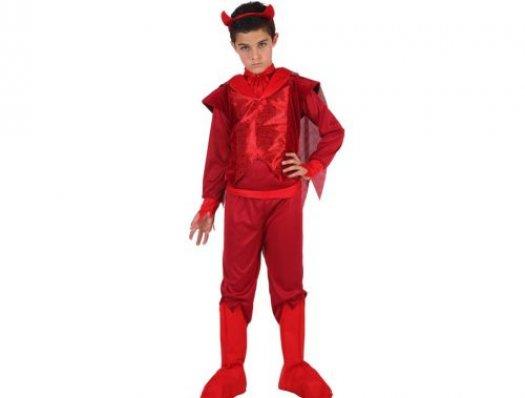 Disfraz de demonio fuego niño Talla 1 (3 – 4 años)