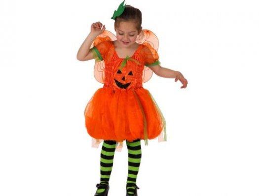 Disfraz de calabaza con alas niña Talla 3 (7 – 9 años)