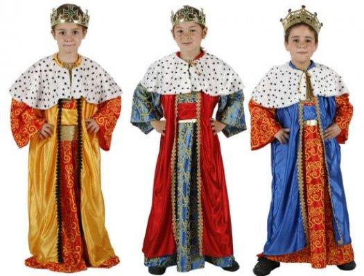 Disfraz de rey mago niño 5-6 años