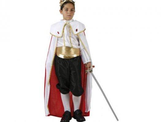 Disfraz de rey medieval, Talla 1 (3 – 4 años)