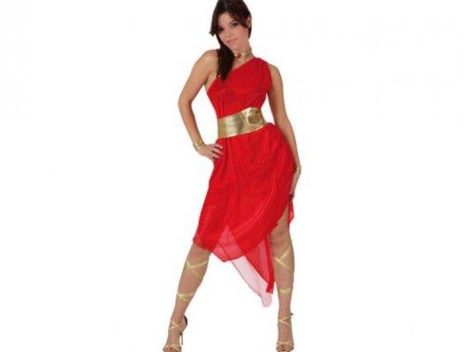 de romana rojo dorado, adulto Disfraces de romana rojo dorado, adulto