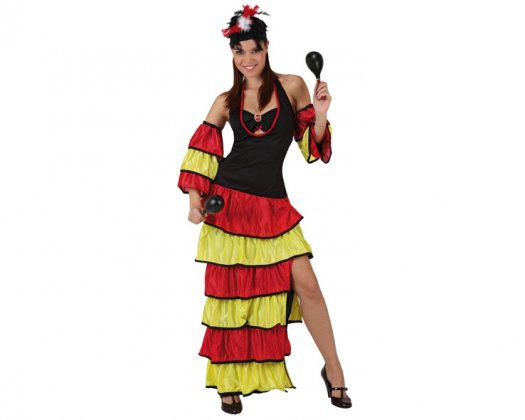 disfraz cubanita: