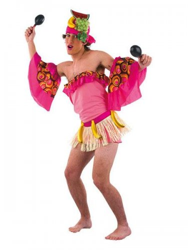 Disfraz de salsa cubana hombre