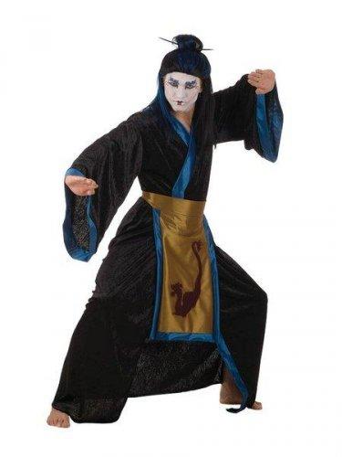 Disfraz de samurai gotico