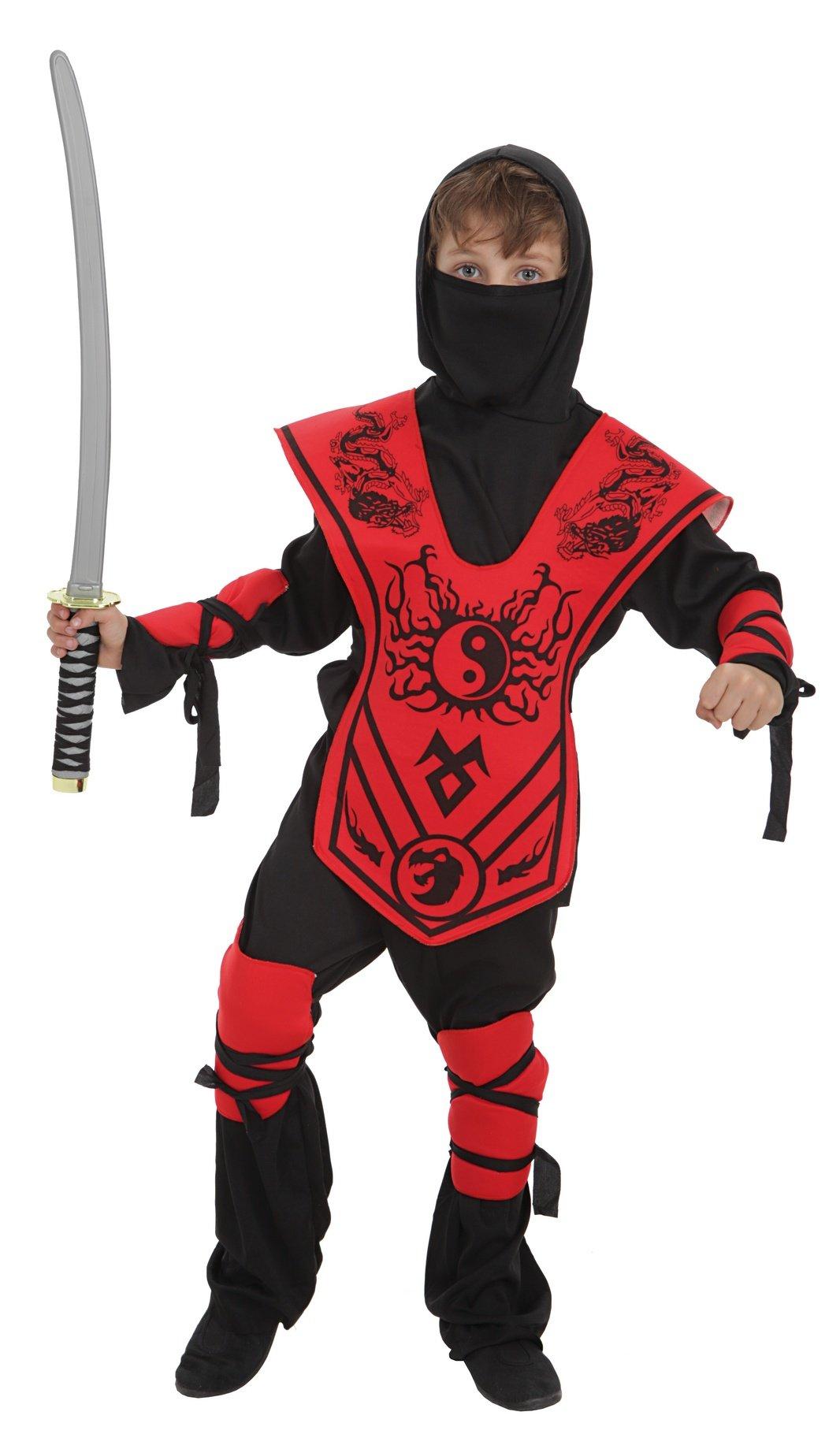 Disfraz de samurai yin yan talla M (7-9 años)