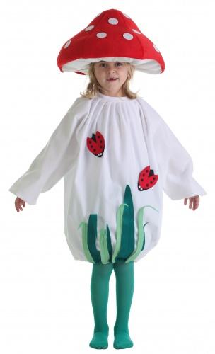 Disfraz de seta infantil talla 5 (11-13 años) Sin sombrero
