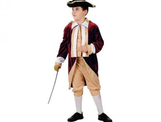 Disfraz de soldado rojo, Talla 2 (5 – 6 años)