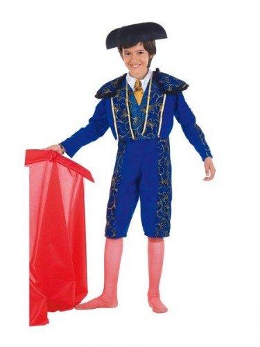Disfraz de torero azul
