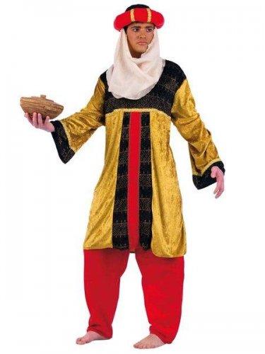 Disfraz de tuareg oro