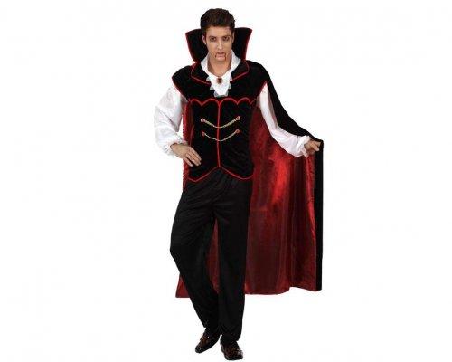 Disfraz de vampiro elegante, adulto Talla 3 (XL-XXL)