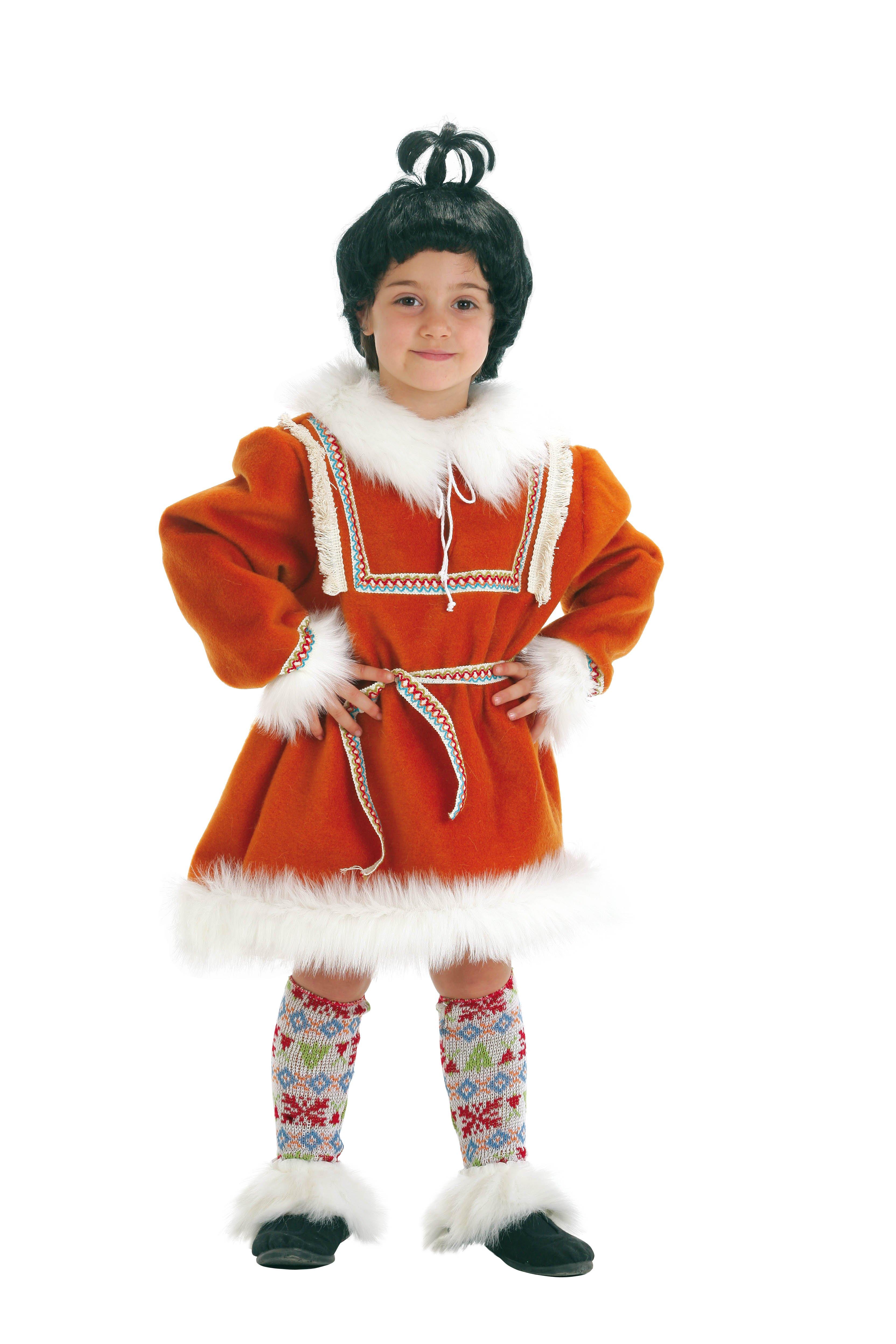 disfraz infantil de esquimal nia talla aos