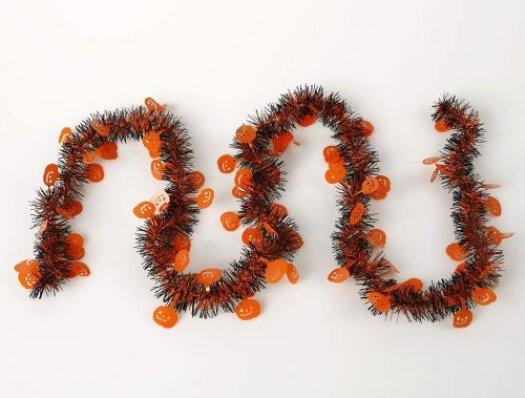 Espumillon pvc bicolor calabaza hallo 210c