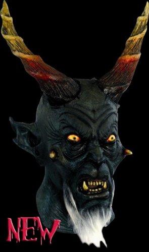 Máscara de diablo Eliphas con barba