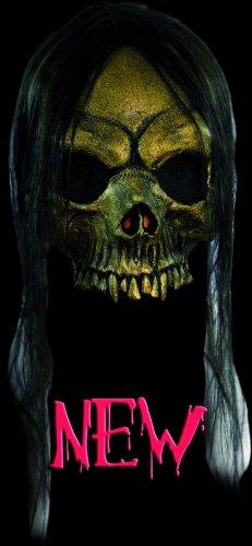 Máscara de esqueleto abierta