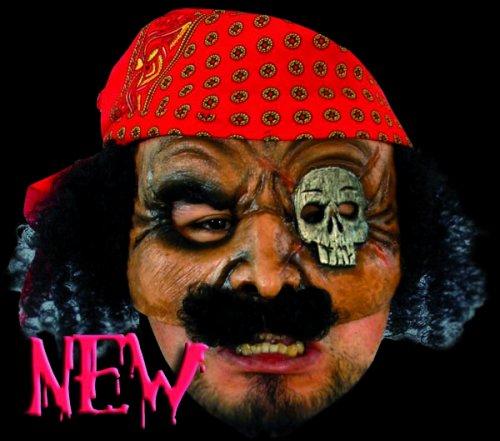 Máscara de pirata media cara