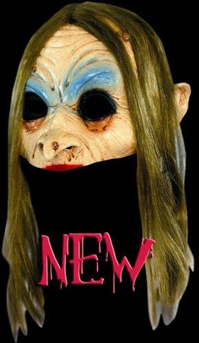 Máscara media cara de bruja