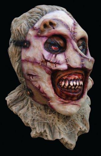 Máscara trozos de cara cosidos