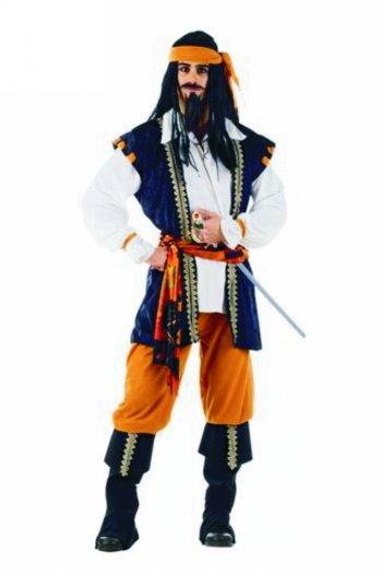 Disfraz de Pirata Malvado deluxe