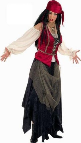 Disfraz de Pirata Corsaria Valorius deluxe