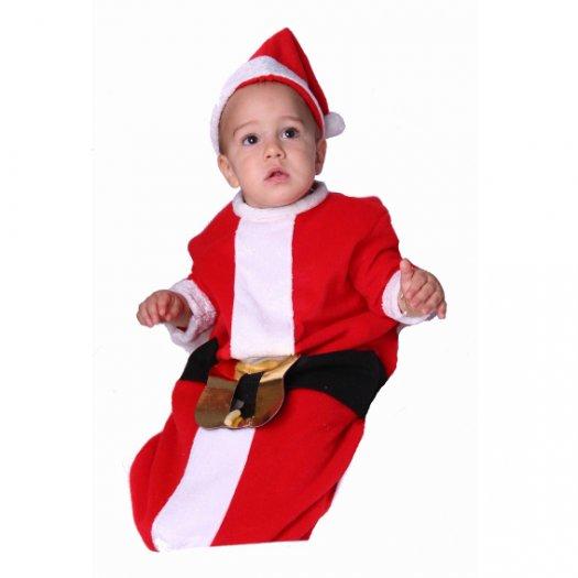 Saquito Papa Noel 6 meses