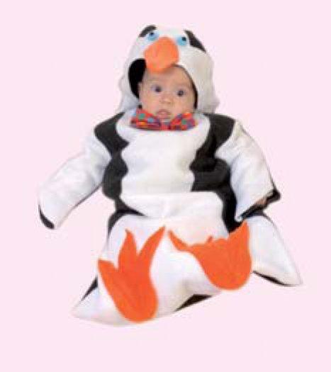 Saquito Pingüino 0-6 meses