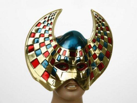 Máscara pvc galáctica mosaico 30x22 cm