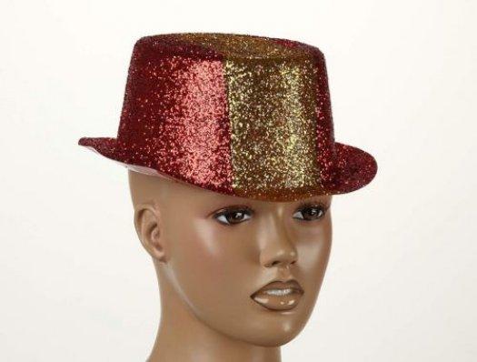 Sombrero destellos tricolor españa