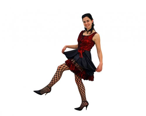 Disfraz de bailarina de saloon adulto