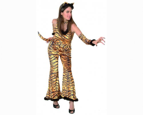 Disfraz de Tigresa sexy adulto