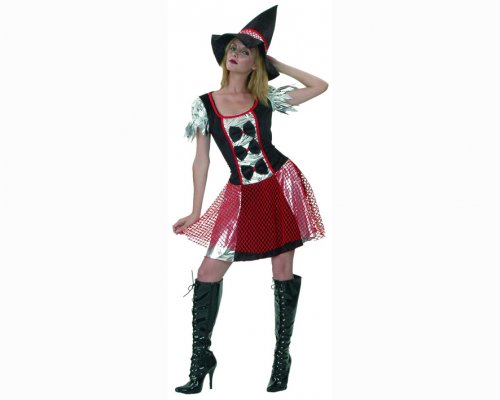 Disfraz de Bruja roja adulto