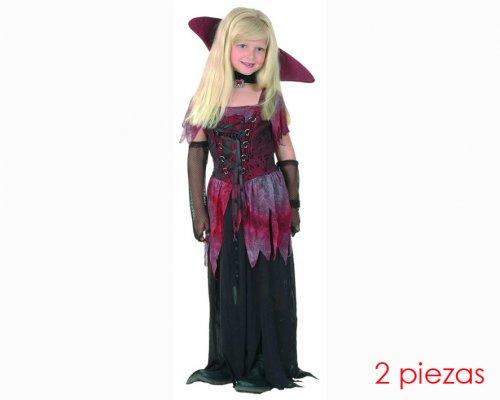Disfraz de Vampiresa gótica 7-9 años