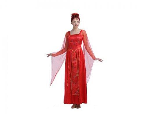 Disfraz de emperatriz asiatica, adulto