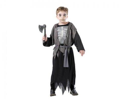 Disfraz de esqueleto 3d harapos 10-12