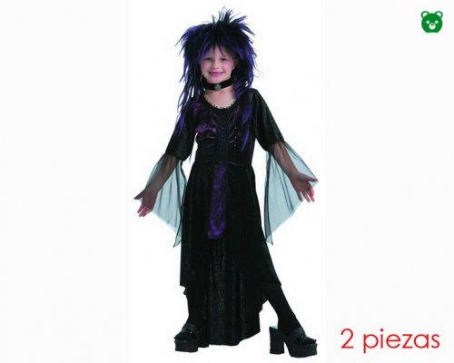 Disfraz de vampiresa 4-6 aÑos