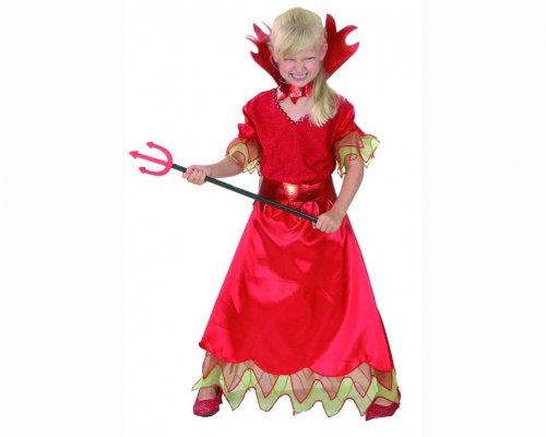 Disfraz de demonia 4-6 aÑos niÑa