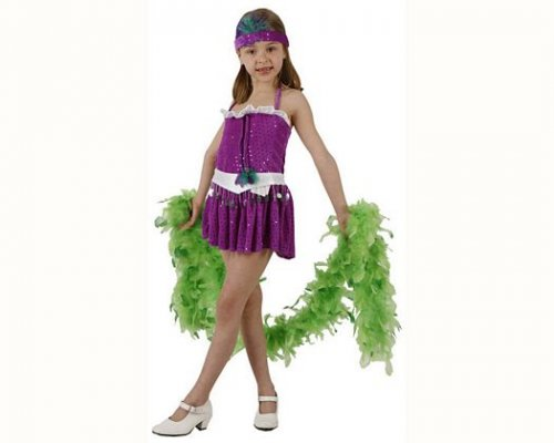 Disfraz de charleston 3-4 años