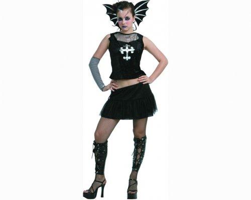 Disfraz de gótica rebelde adulto