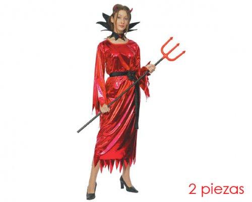 Disfraz de demonia mujer