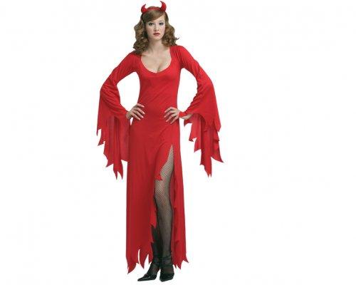 Disfraz de diosa del averno, adulto.