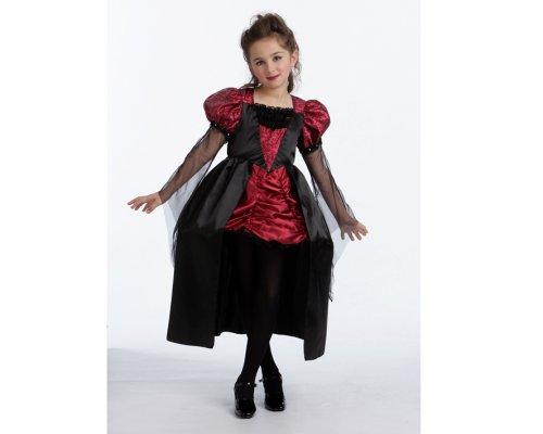 Disfraz de vampiresa noble 7-9 años